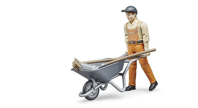 Bruder Figure Set Municipal Worker