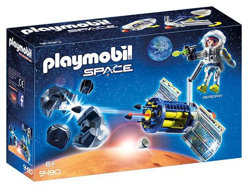 Playmobil 9490 Space Satellite Meteoroid Laser