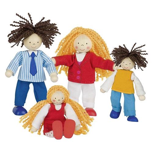 Goki Flexible Puppets Lifestyle Family