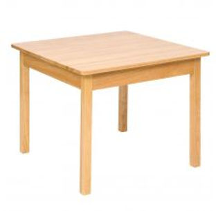 BigJigs Plain Wooden Table