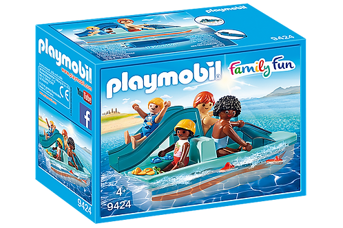 Playmobil 9424 Family Fun Floating Paddle Boat