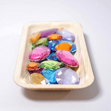 Grimms 28 Giant Acrylic Glitter Stones