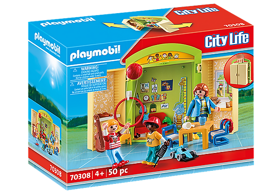 Playmobil 70308 Preschool Play Box