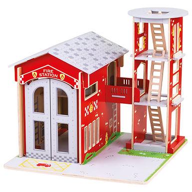 BigJigs City Fire Station