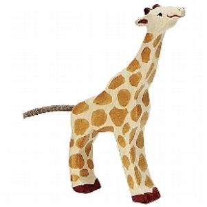 Holztiger Giraffe, Small, Feeding