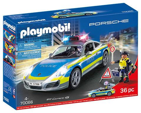 Playmobil 70066 Porsche 911 Carrera 4S Police Car