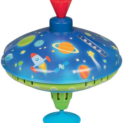 Goki Spinning Top LED Space