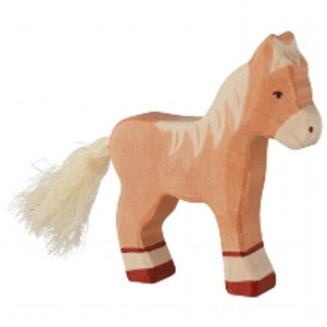 Holztiger Foal, Standing, Light Brown