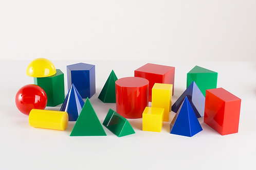 Edx Education Large Geometric Solids