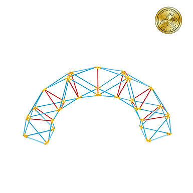 Hape Geodesic Stuctures - Flexistix
