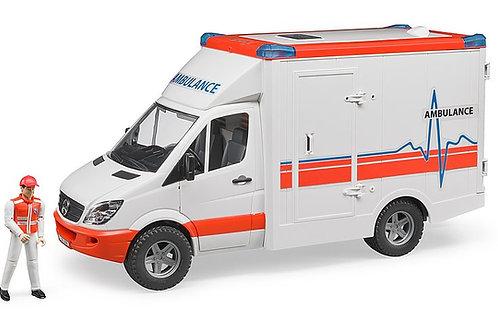 Bruder MB Sprinter Ambulance With Driver