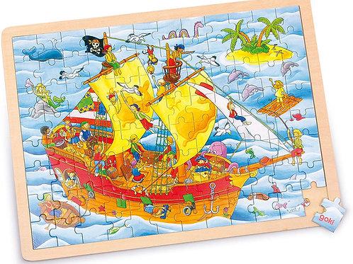 Goki Puzzle, Pirates