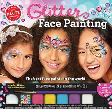 Books - Klutz Glitter Face Painting
