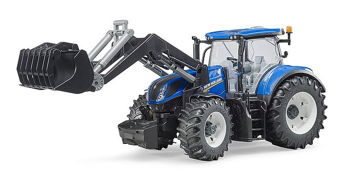 Bruder New Holland T7.315 With Frontloader