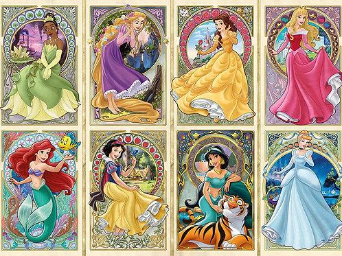 Ravensburger  Princesses of Art Nouveau, Multicoloured 1000pce Jigsaw