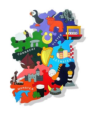 Map of Ireland - Provinces