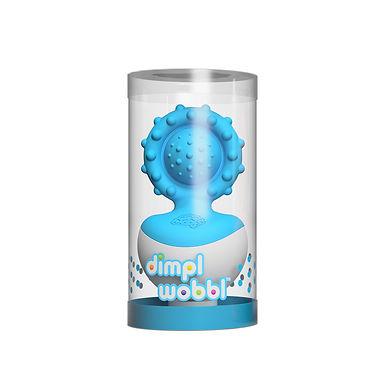 Fat Brain Toys  Dimpl Wobbl Blue