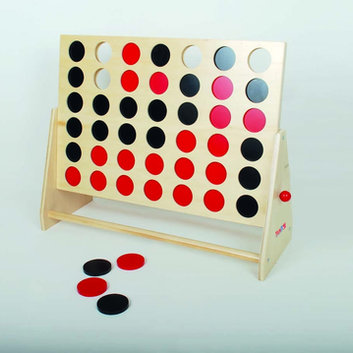 TickiT Wooden 4 In A Row 60X48X22Cm