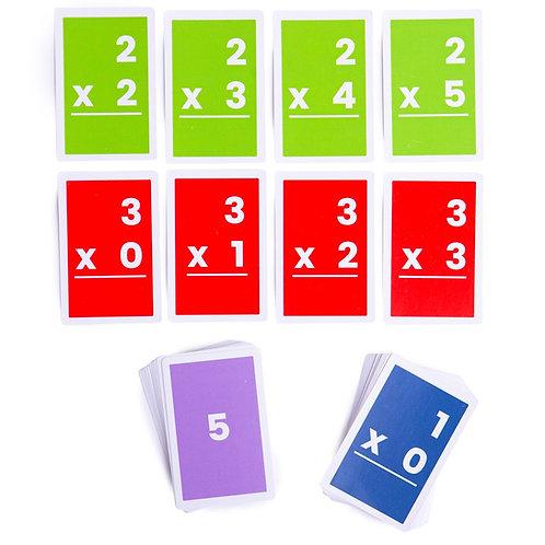 BigJigs Flashcards - Multiplications 1-6 (10)