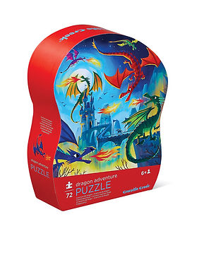Crocodile Creek Dragon Adventure 72 piece jigsaw puzzle