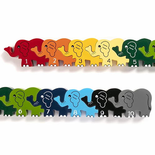 Number Elephant Row