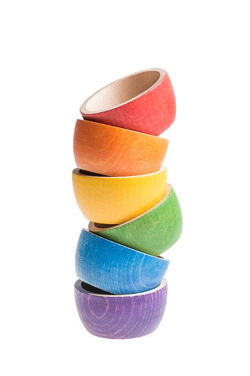 Grapat 6 X Bowls (6 Colors)