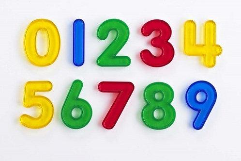 Edx Education Transparent Numbers - Pk10