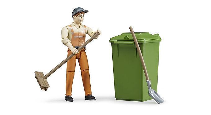 Bruder Figure Set - Waste Disposal