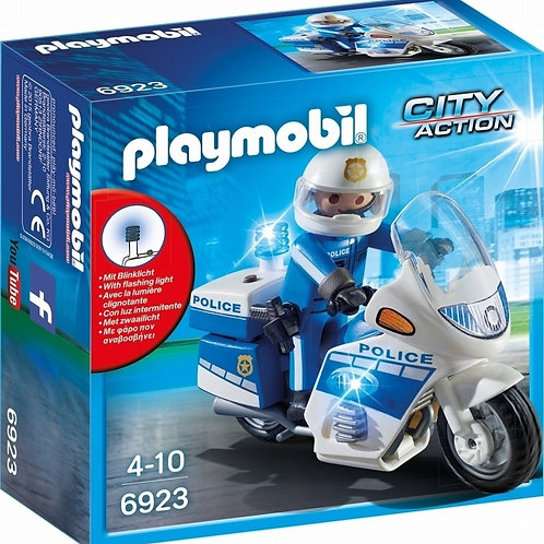 Playmobil 6923 City Action Police Bike