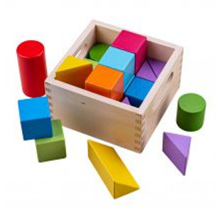 BigJigs Rainbow Building Blocks