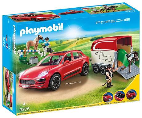 Playmobil 9376 Porsche Macan GTS with Horse Trailer