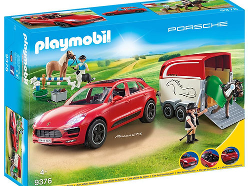 Playmobil 9376 Porsche Macan GTS with Horse Trailer