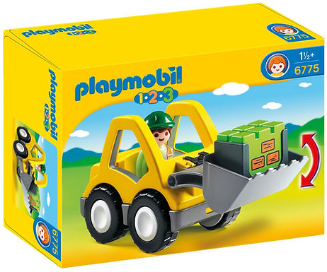 Playmobil 1.2.3 6775  Excavator