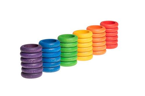Grapat 36 X Rings (6 Colors)