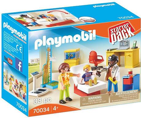 Playmobil 70034 City Life Children's Doctor Starter Pack