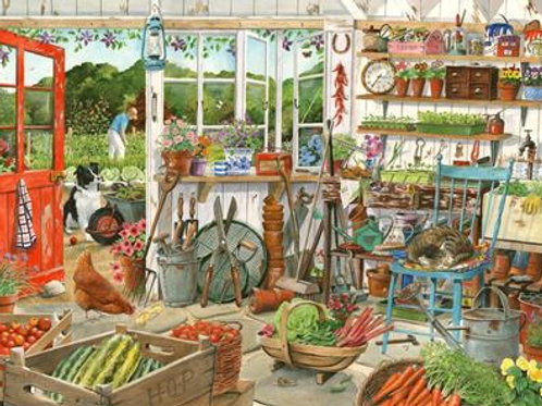 The House of Puzzles - POTTING SHED - 1000 piece Jigsaw