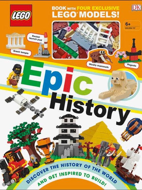Books - Lego Epic History
