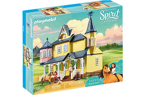 Playmobil DreamWorks Spirit 9475 Lucky's Happy Home