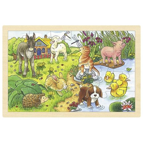 Goki Baby Animals Ii, Puzzle