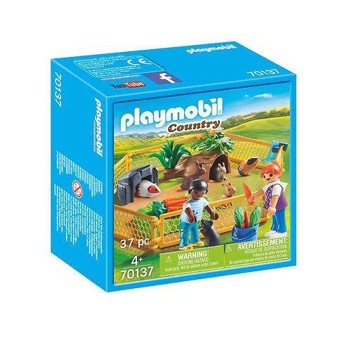 Playmobil 70137 Country Farm Small Animal Enclosure