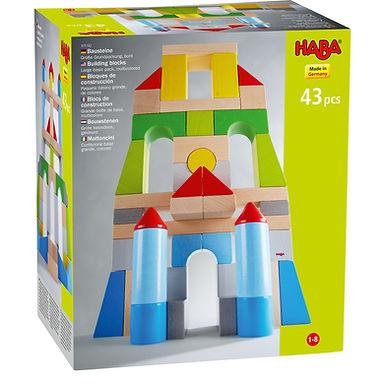 Haba Building Blocks  Large Basic Pack Multicolored