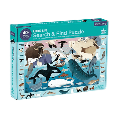 Mudpuppy's Arctic Life Search & Find Puzzle