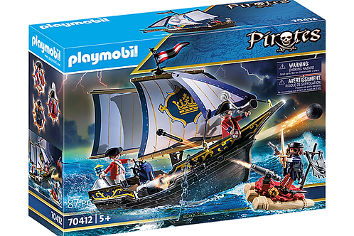 Playmobil 70412 Pirates Small Floating Pirate Ship