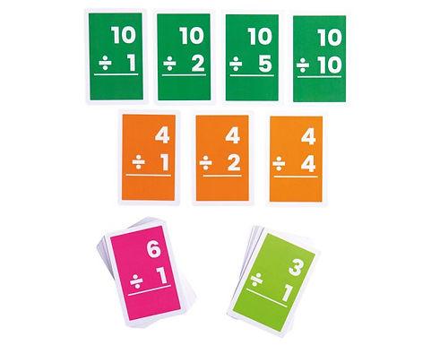 BigJigs Flashcards - Divisions 1-10 (10 Sets)