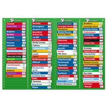 Fiesta Crafts Football Table