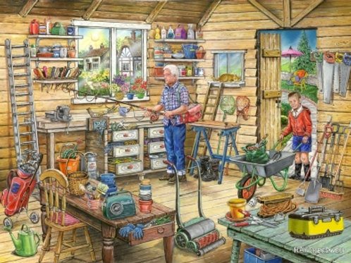 The House of Puzzles - No.14 FRED'S SHED  - Find the Difference - 1000 piece