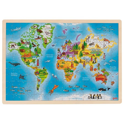 Goki World Puzzle