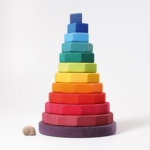 Grimms Giant Geometrical Stacking Tower