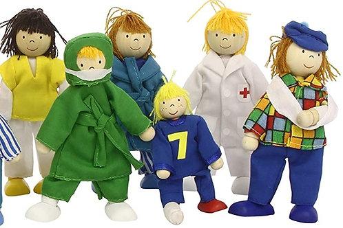 Goki Flexible Puppets, Hospital