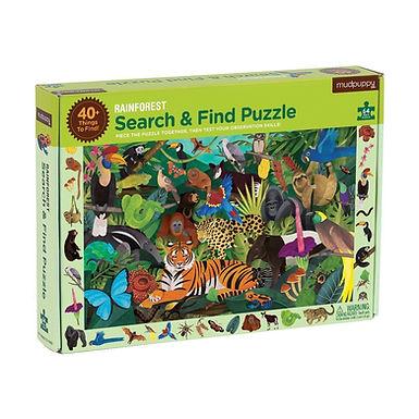 Mudpuppy's Rainforest Search & Find Puzzle